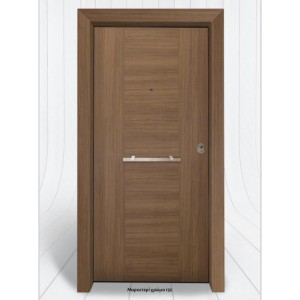 θωρακισμενες πορτες ασφαλειας, PVC 23  Επένδυση PVC