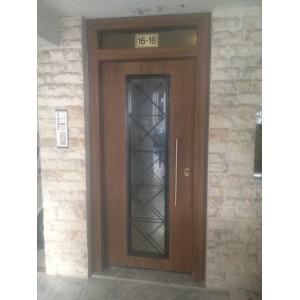 εξωτερικες πορτες εισοδου,Πόρτα Εισόδου Πολυκατοικίας 24 Πόρτες Εισόδου Πολυκατοικίας