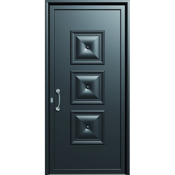 πορτες ασφαλειας,Αλουμίνιο 02  Επένδυση Αλουμινίου