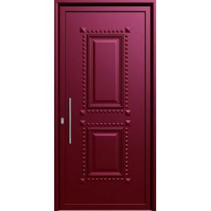 πορτες ασφαλειας, Αλουμίνιο 01  Επένδυση Αλουμινίου