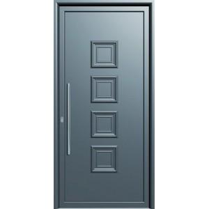 πορτες ασφαλειας,Αλουμίνιο 07  Επένδυση Αλουμινίου