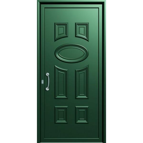 πορτες ασφαλειας, Αλουμίνιο 11  Επένδυση Αλουμινίου