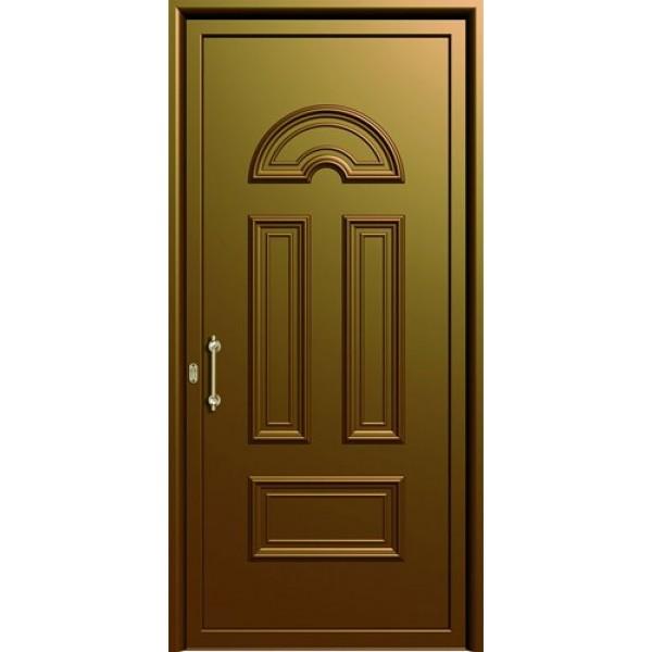 πορτες ασφαλειας,  Αλουμίνιο 13  Επένδυση Αλουμινίου