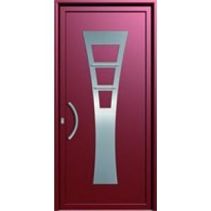 πορτες ασφαλειας, Αλουμίνιο 18  Επένδυση Αλουμινίου