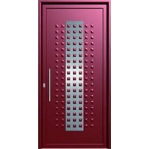πορτες ασφαλειας,Αλουμίνιο 19  Επένδυση Αλουμινίου