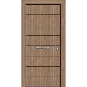 θωρακισμενες πορτες ασφαλειας, PVC 05  Επένδυση PVC
