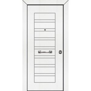 θωρακισμενες πορτες ασφαλειας,PVC 12  Επένδυση PVC